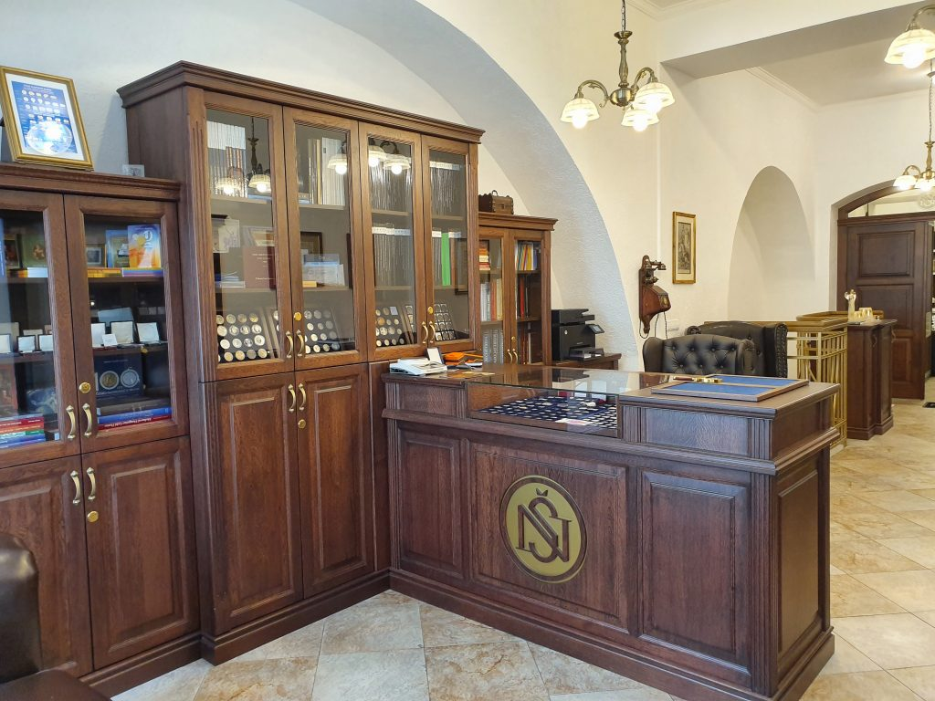 obchod numismatika