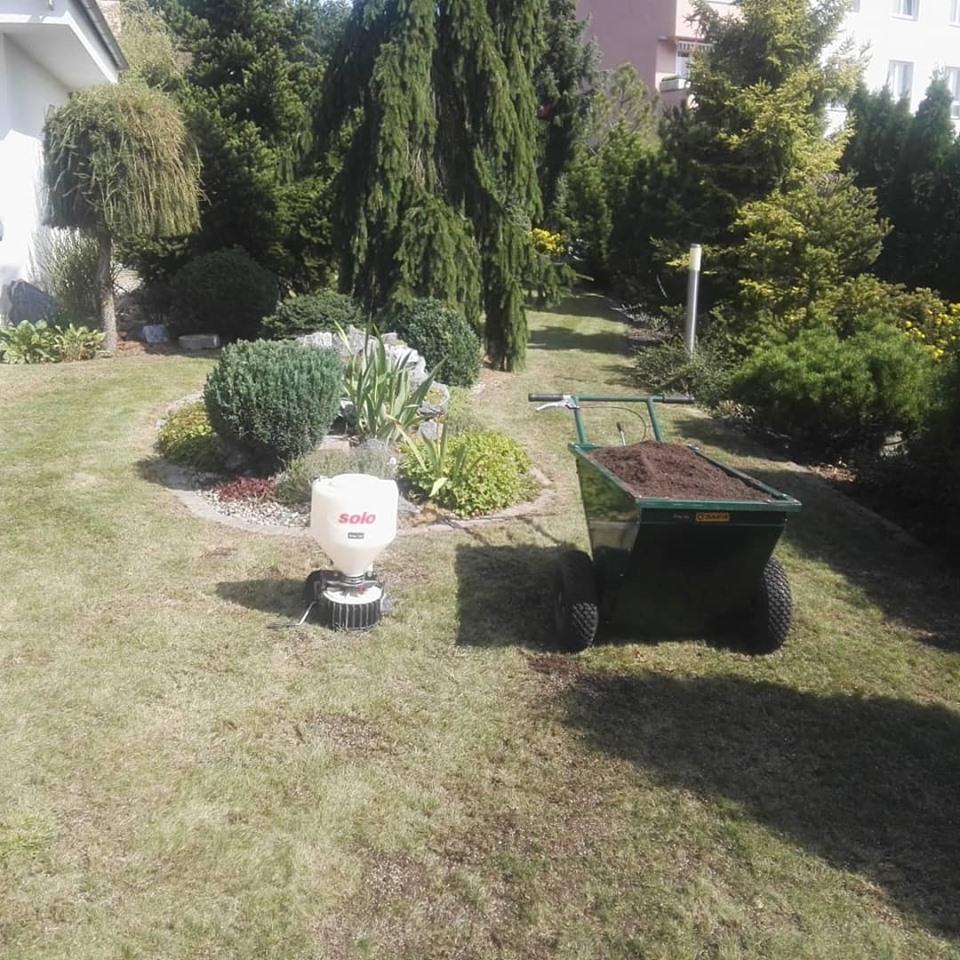 udrzba zahrady chalupy servis