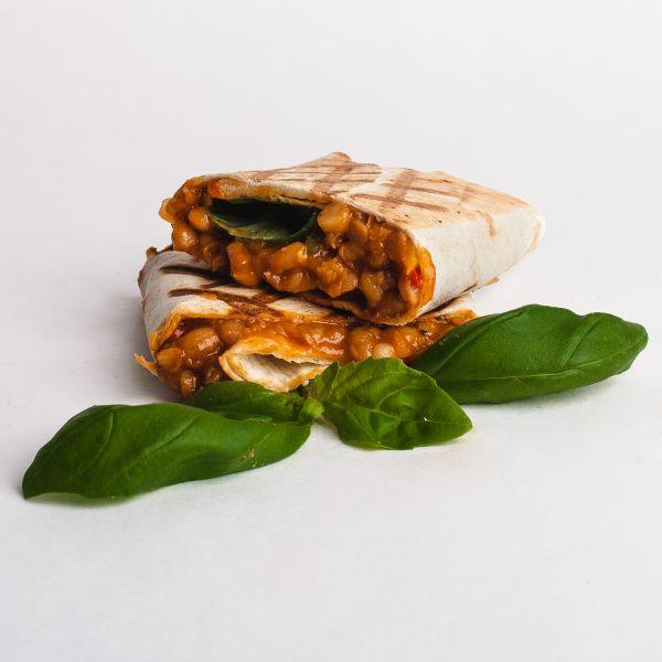 veganska tortila kejsa street food