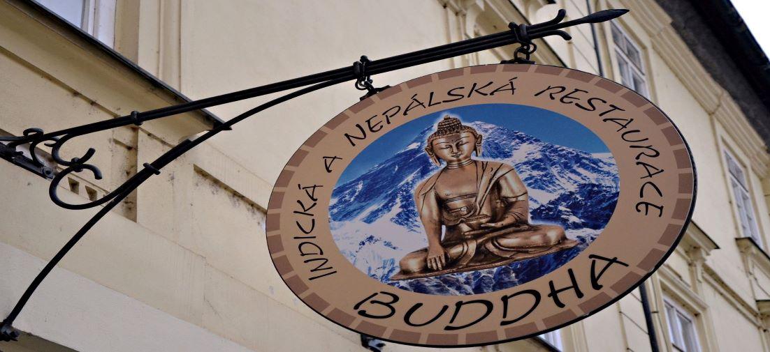 logo Budha restaurace Plzen