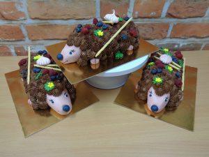 ježek 3D dort do souteze platfromy SR