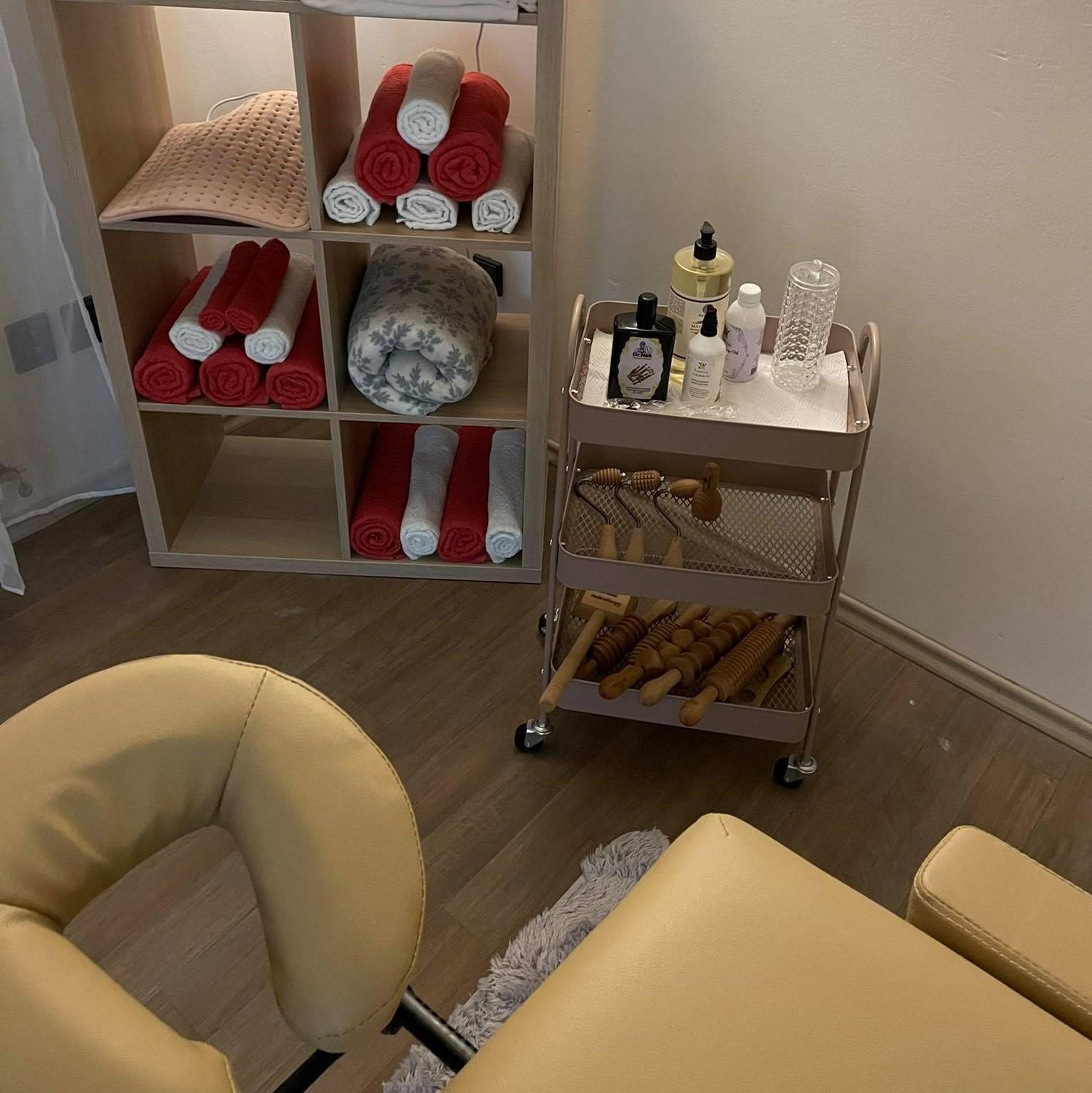 vybaveni salon Plzen therapy